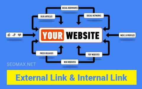 Internal link External link