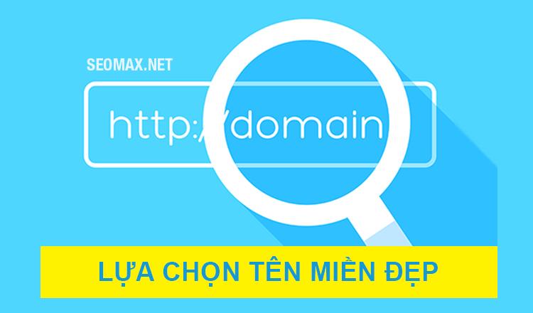 chọn tên miền domain
