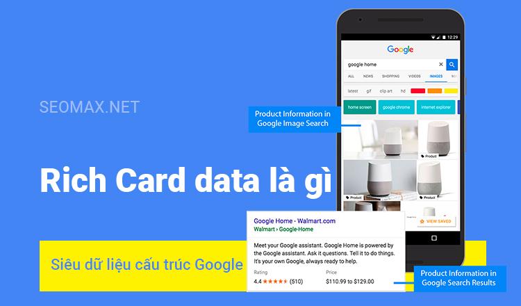 Rich Card data là gì
