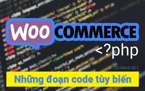 woocommerce code
