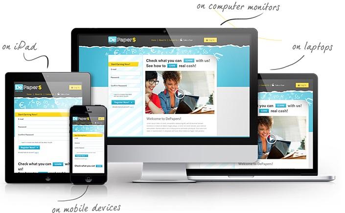 Web thân thiện mobile