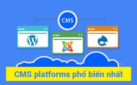Top CMS platforms